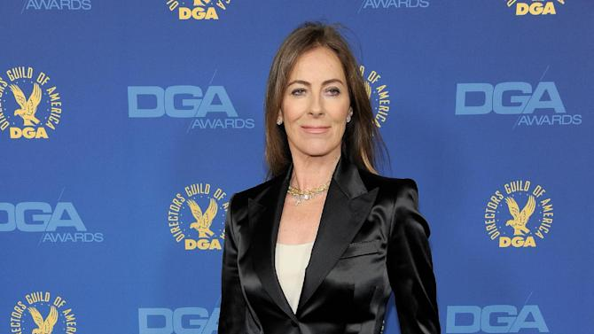 Kathryn Bigelow arrives at the 65th Annual Directors Guild of America Awards at the Ray Dolby Ballroom on Saturday, Feb. 2, 2013, in Los Angeles. (Photo by Chris Pizzello/Invision/AP)