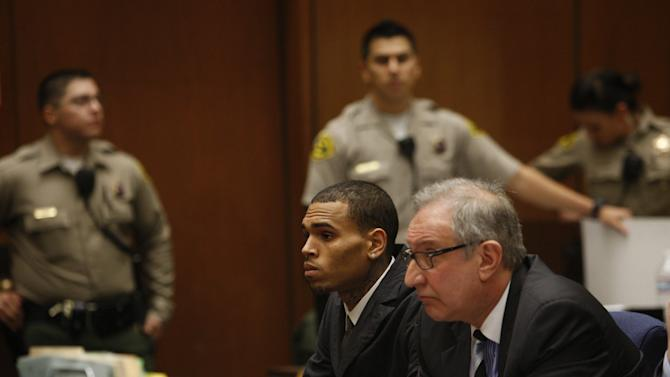 Chris Brown Court Appearance