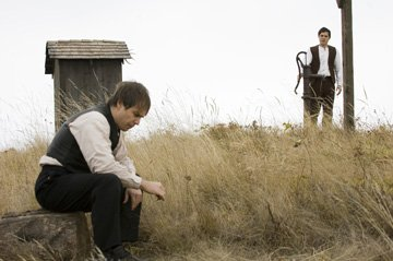 Sam Rockwell and Casey Affleck in Warner Bros. Pictures' The Assassination of Jesse James by the Coward Robert Ford