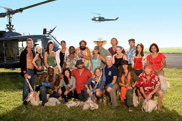 The cast of &quot;Survivor: Heroes vs. Villains.&quot; 
