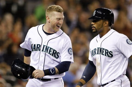 Millwood, Ackley lead Mariners past Red Sox 2-1