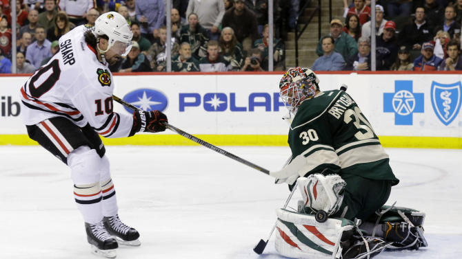Wild's season ends with OT loss to Blackhawks