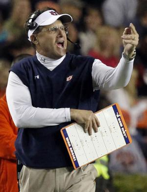 No. 4 Auburn trying to build for the long haul