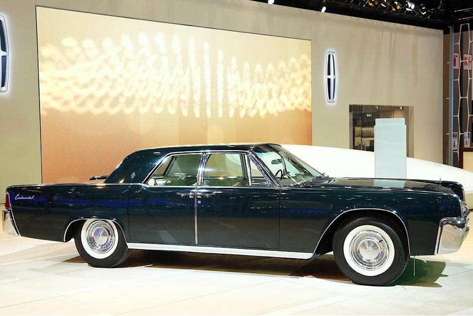 Lincoln's Heritage at the Los Angeles Auto Show