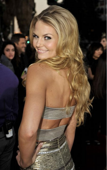 Jennifer Morrison arrives at the 35th Annual People's Choice Awards held at the Shrine Auditorium on January 7, 2009 in Los Angeles, California. 