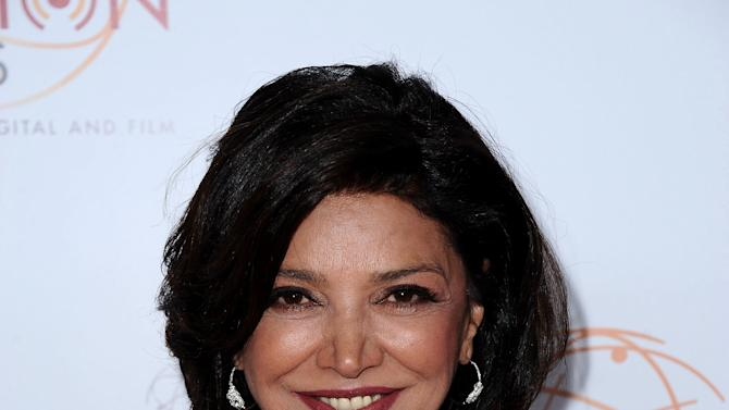 Shohreh Aghdashloo arrives at the 34th College Television Awards presented by the Academy of Television Arts & Sciences Foundation at the JW Marriott Los Angeles L.A. Live on April 25, 2013 in Los Angeles, California. (Photo by Scott Kirkland/Invision for the Academy of Television Arts & Sciences/AP Images)
