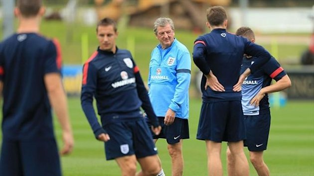England have been training at St George's Park on Tuesday ahead of Friday's match against Montenegro