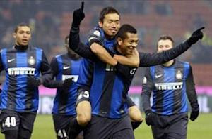 Inter 2-0 Verona: Cassano and Guarin ease Nerazzurri into Coppa Italia quarterfinals