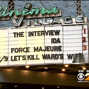 Crowds Line Up At Area Theaters To See 'The Interview'