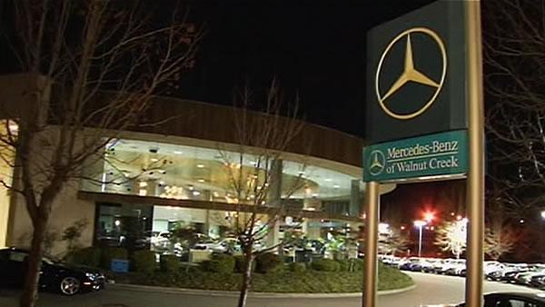 Info stolen at Mercedes dealership in Walnut Creek