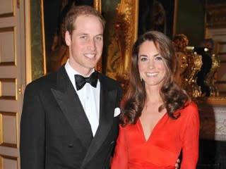 Photos:  Kate Middleton: Ravishing in Red