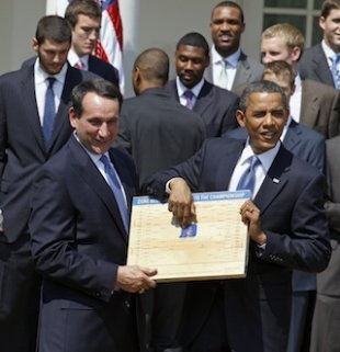 NCAA Tournament 2012 Bracket Predictions: President Obama Gives Full Picks to ...
