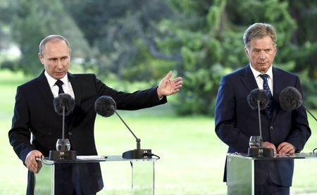 Putin hints Russia will react if Finland joins NATO
