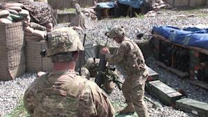 5 U.S. SOLDIERS KILLED BY POSSIBLE FRIENDLY FIRE