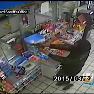 Attempted Oakland Park Gas Station Robbers Caught On Camera