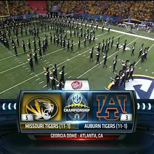 12/07/2013 Auburn vs Missouri Football Highlights