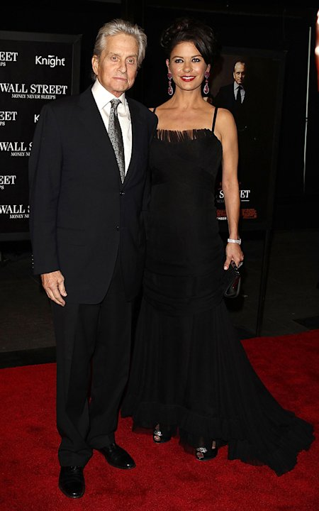 Wall Street: Money Never Sleeps NYC Premiere 2010 Michael Douglas Catherine Zeta Jones
