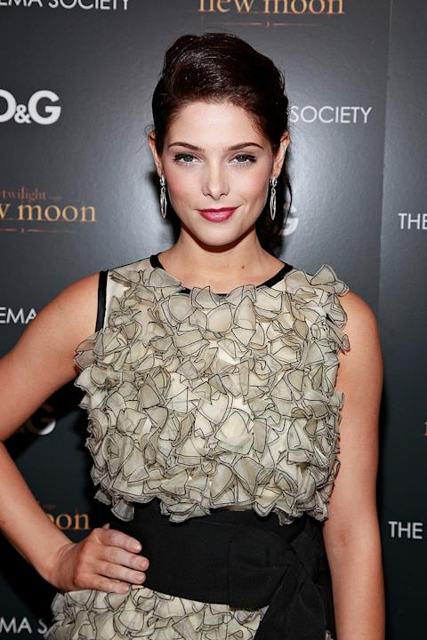 Twilight Saga New Moon NY Screening 2009 Ashley Greene