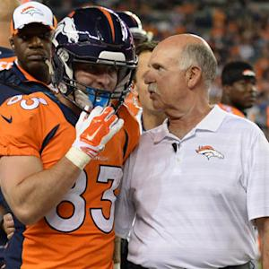 Denver Broncos expect wide receiver Wes Welker to bounce back quickly