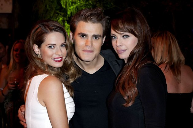 Lyndsy Fonseca (&quot;Nikita&quot;), Paul Wesley (&quot;The Vampire Diaries&quot;), and Melinda Clarke (&quot;Nikita&quot;) attend The CW Fall Premiere party presented by Bing at Warner Bros. Studios on September 10, 2011 in Burba
