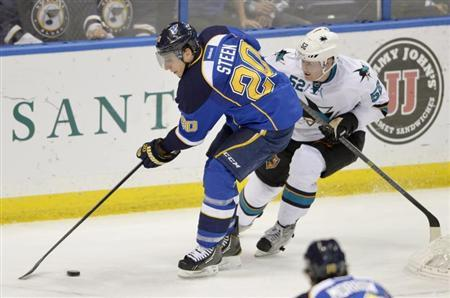 NHL: San Jose Sharks at St. Louis Blues