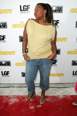 Queen Latifah at the Miami premiere of Lions Gate's The Cookout