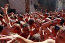 Photos: Spanish town's annual 'Tomatina' tomato fight