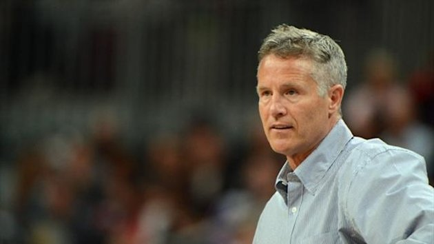 Basketball coach Brett Brown (AFP)