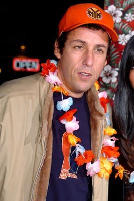 Adam Sandler at the LA premiere of Columbia's 50 First Dates