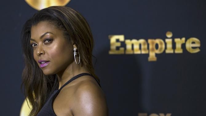 "Cast member Henson poses at a screening of the television series ""Empire"" in Los Angeles"