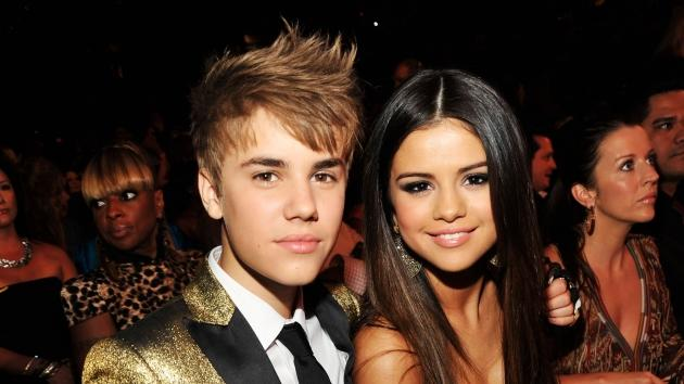 Justin Bieber and Selena Gomez pose during the 2011 Billboard Music Awards at the MGM Grand Garden Arena in Las Vegas May 22, 2011 -- Getty Premium
