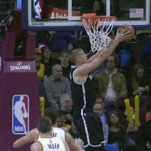 Plumlee Pummels It