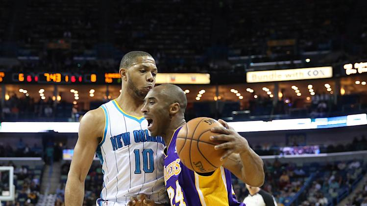 NBA: Los Angeles Lakers at New Orleans Hornets
