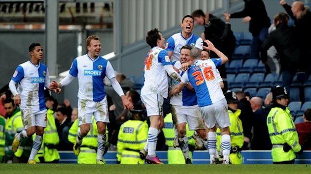 David Dunn was the hero for Blackburn