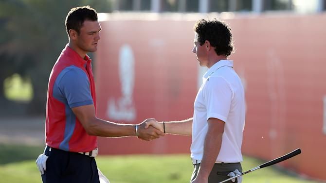 Abu Dhabi HSBC Golf Championship - Day Two