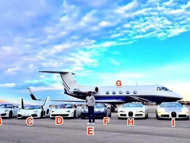 Floyd Mayweather's $6 million exotic car collection is stunning