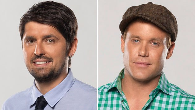 Ludo Lefebvre and Brian Malarkey on ABC&#39;s &quot;The Taste.&quot;