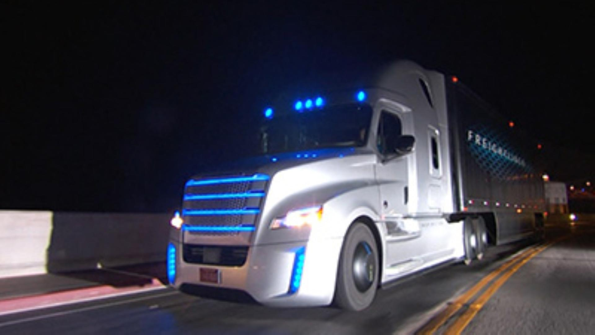Daimler Introduces Autonomous Truck