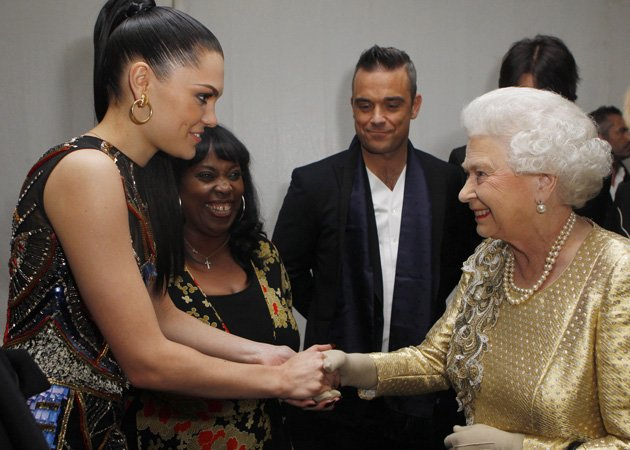 Jessie J, Queen, Diamond Jubilee Concert
