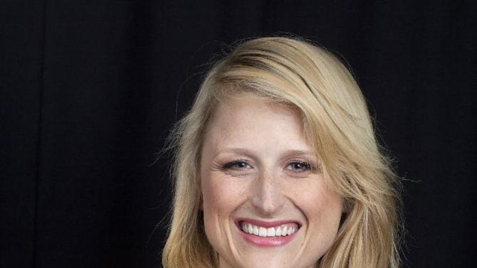 """This Oct. 2, 2012 photo shows American actress Mamie Gummer posing for a portrait in New York. Gummer portrays the title character in the CW drama series """"Emily Owens M.D.,"""" premiering Tuesday Oct. 16 at 9:00 p.m. EST. (Photo by Amy Sussman/Invision/AP)"""