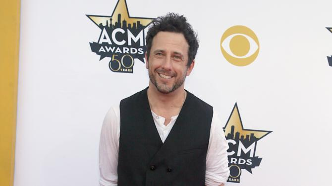 Will Hoge arrives at the 50th annual Academy of Country Music Awards at AT&T Stadium on Sunday, April 19, 2015, in Arlington, Texas. (Photo by Jack Plunkett/Invision/AP)