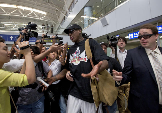 China North Korea Rodman