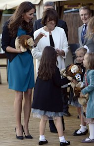 Kate Middleton wears Zara dress and Whistles jacket to watch The Lion, The Witch and The Wardrobe