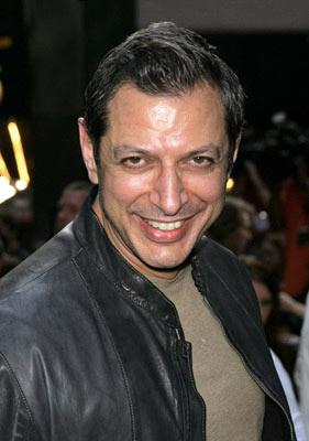 Jeff Goldblum at the New York premiere of Dreamworks' The Island