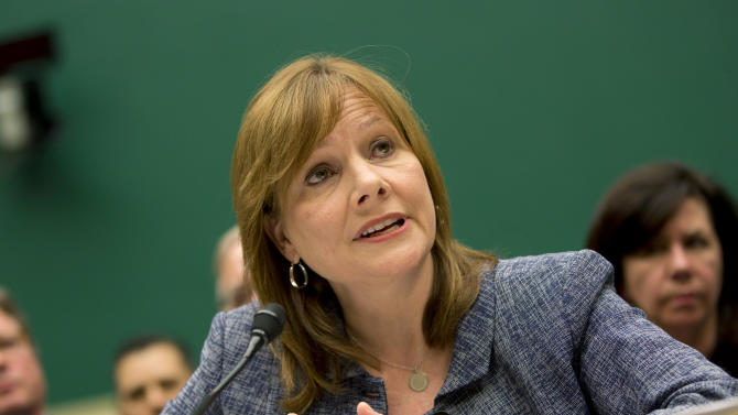 Under fire: GM's Barra deflects hard questions