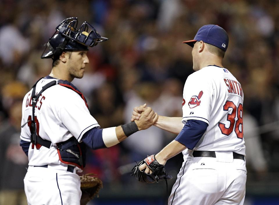 Indians maintain wild-card spot, beat Astros 4-1