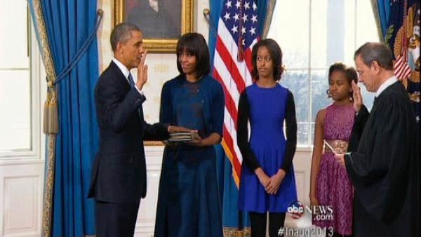 Inauguration Day 2013: President Obama sworn in