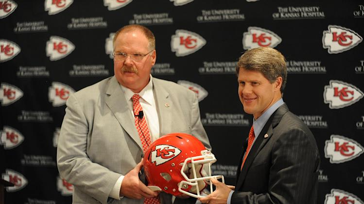 NFL: Kansas City Chiefs-Andy Reid Press Conference