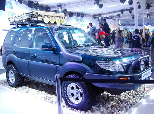 Tata Motors At Auto Expo 2012
