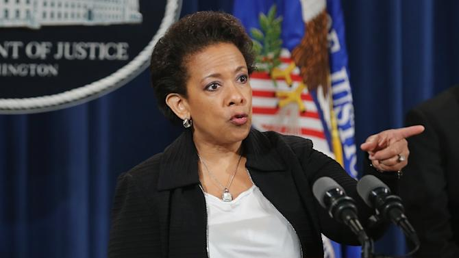 "U.S. Attorney General Loretta Lynch says corruption allegedly spans ""at least two generations of soccer officials"""